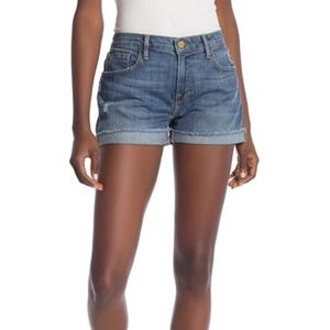 Frame Le Grand Garçon Cutoff Jean Denim Shorts